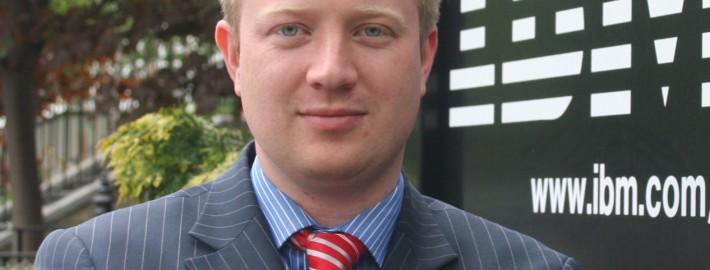 Bryan Hickson, Client Solutions Executive IBM Ireland