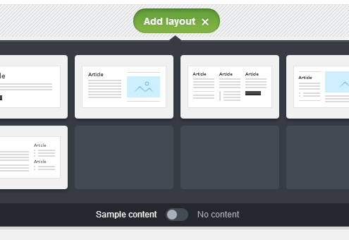 Screenshot of templatebuilder Canvas - talk to ProfIT Marketing about successful email marketing